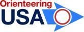 Orienteering USA logo.
